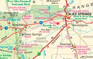Australia's Outback Tracks - 1:1M map