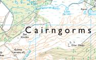 UK Topographic - Fixed Scale