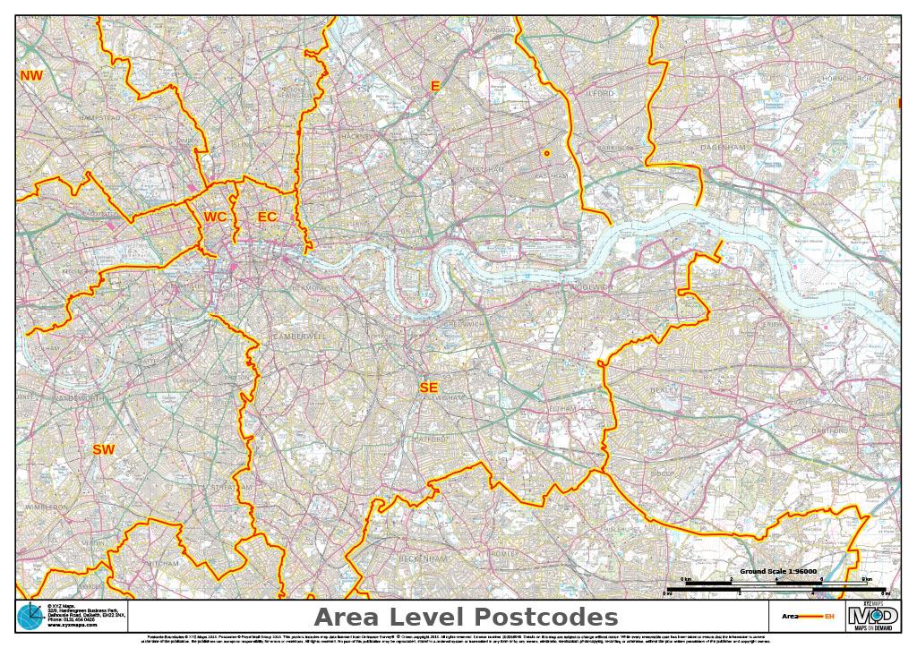 Map Of Uk Postcodes.Xyz Postcode Areas